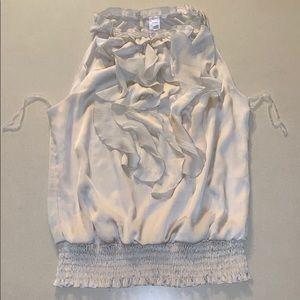 Tops - Silk n' Ruffle Dress Blouse